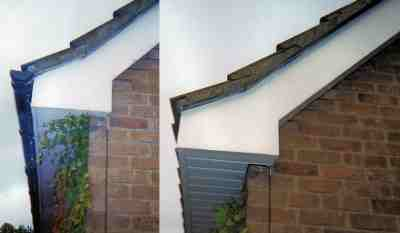 uPVC before and after.